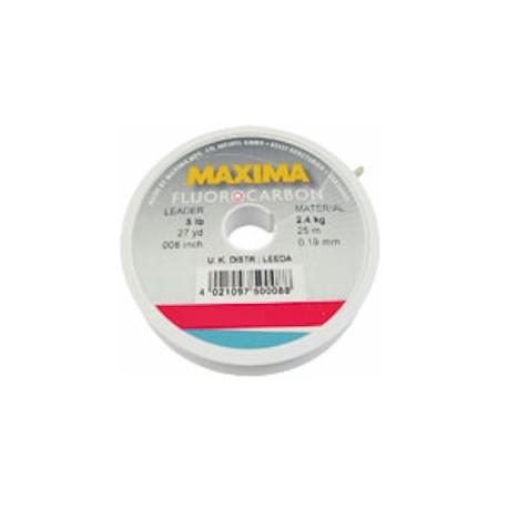 Maxima Fluorocarbon Line 25m spools