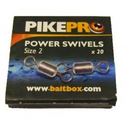 Pike Pro Power Swivels