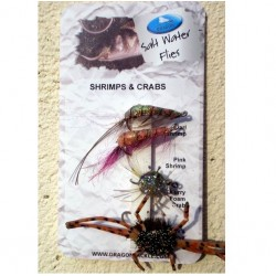 Dragon Selection of Salt Water Shrimps Crabs