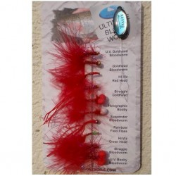Dragon Selection of Ultimate Bloodworm Flies