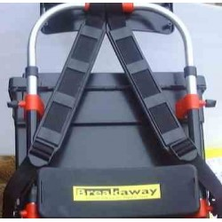 Breakaway seat Box Conversion Back Rest and Pack Frame