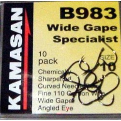 Kamasan B983 Wide Gape Coarse Hooks
