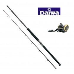 Daiwa Kenzaki 2pc Braid Boat Rod and Sealine Boat Reel Combo
