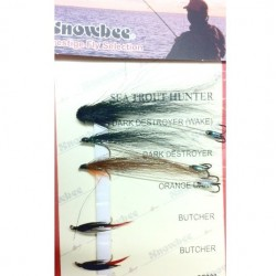 Snowbee Sea Trout Hunter Fly Selection