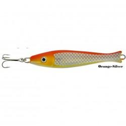 Zebco Fat Head Pirk 200g Orange Silver