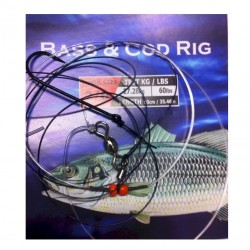 Surecatch Bass and Cod Rig 1 hook 5 pack