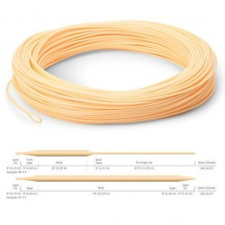 Cortland 444 Classic Peach Floating Fly Line DT7F