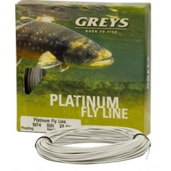 Greys Platinum WF7 Intermediate Floating Grey Hi-Vis Fly Line
