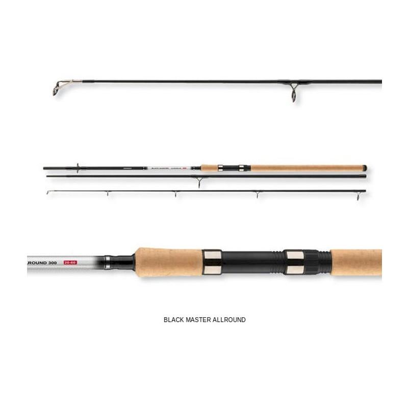 Online fishing shop henry 39 s tackle shop cormoran black for 3 piece fishing rod