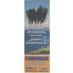 Gowen Bradshaw Connemara 6 Hook Black Feather Rig