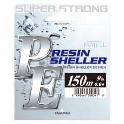 Famell Resin Sheller Braided Line 150m 22lb grey
