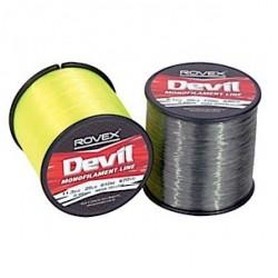 Rovex Devil Fibre Mono Line 1/4lb Bulk Spools Clear