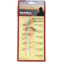Snowbee Salt Flat Specials Fly Selection