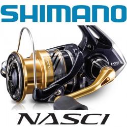 Shimano Nasci Spinning Reels Front Drag