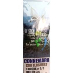 Gowen and Bradshaw Connemara Cod Flasher White Rig 3hook 6/0