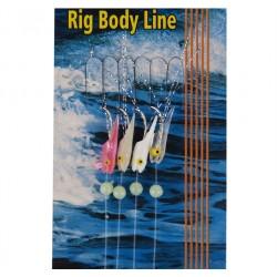 Mustad Shrimp Bait Rig 4 hook T18A