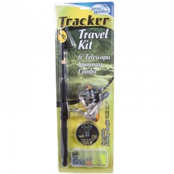 Jarvis WalkerTracker Tele Spin Combo with Lures