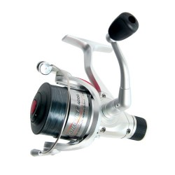 Jarvis Walker Mirage Rear Drag Spin Reel With Line