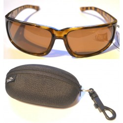 Jarvis Walker Sunglasses Brown Lens Black Frame