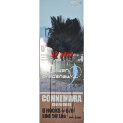 Gowen and Bradshaw Connemara 6hk Black Cod Feather 6/0