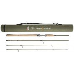 Abu Salmo Seeker 8ft Travel Spin Rod