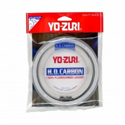 Yo-Zuri HD Fluorocarbon Leader Clear