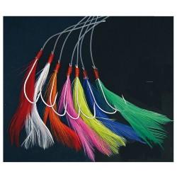 Shakespeare Mix Colour Mackerel Feather