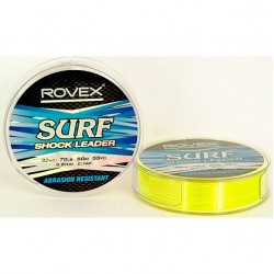 Rovex Surf Shock Leader Yellow 150m