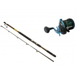 Rovex Silstar 20/40 Budget Boat Combo with Braid