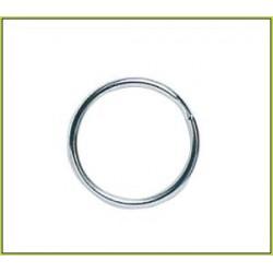 Mustad Round Nickel Split Rings