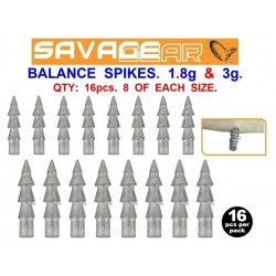 Savage Gear Soft Plastic Insert Balance Spikes