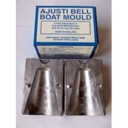Ajusti Bell Boat MouldMold up to 1kg