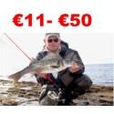 €11 to €50 Bass Lure Angler