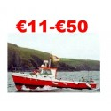 € 11 to €50 Boat Angler