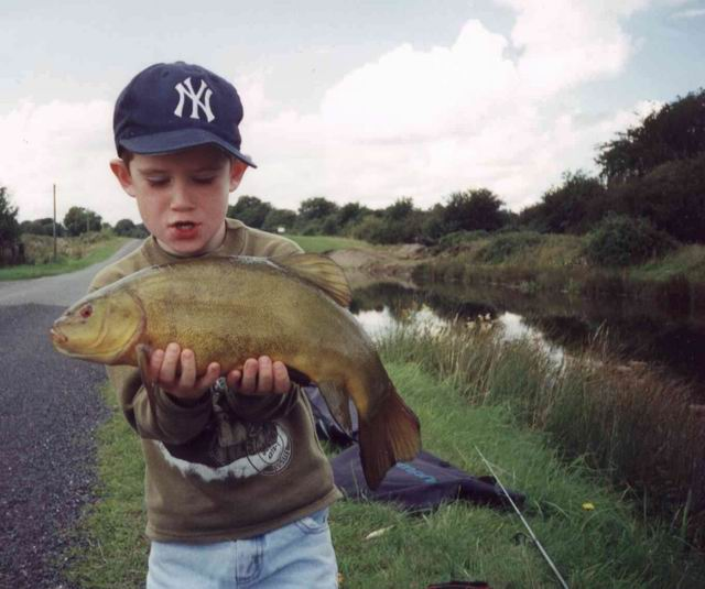 Alex Mooney with a Lovely 5lb Tench