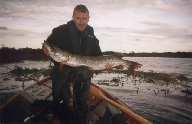Mark with a nice 20lb Pike