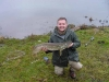 Kevin with a nice 15lb Pike