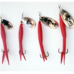Irish Lures Super C Flying C Red Silver Range