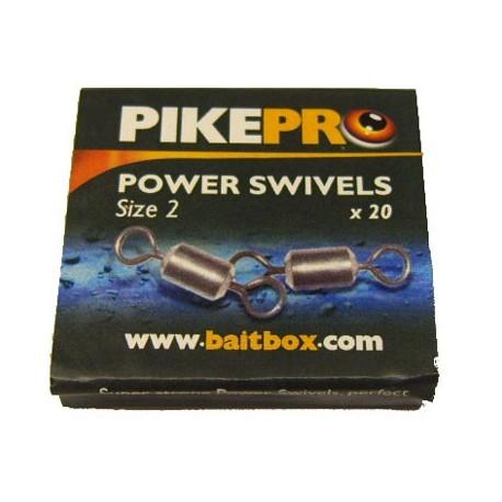 Pike Pro Power Swivels henrys
