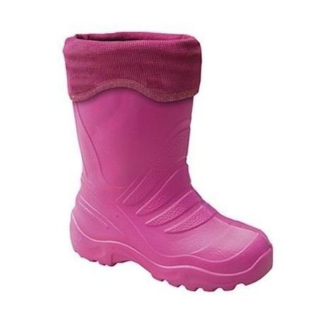 Lemigo Childrens EVA Thermal Featherweight Boot Pink henrys