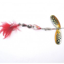 Jaxon Double Blade Spiral Pike Lure
