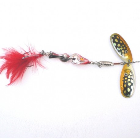 Jaxon Double Blade Spiral Pike Lure henrys
