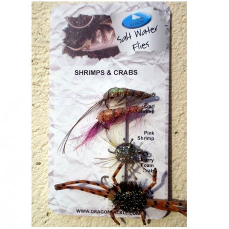 Dragon Selection of Salt Water Shrimps  Crabs henrys