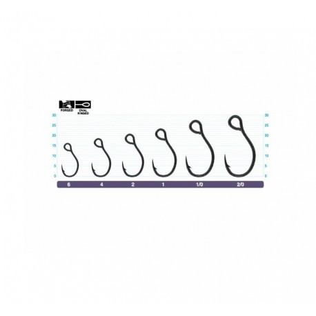 Owner S75M Single Lure Hooks henrys