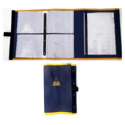 Ian Golds Three Fold Large Rig Wallet