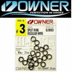Owner Regular Wire Split Ring
