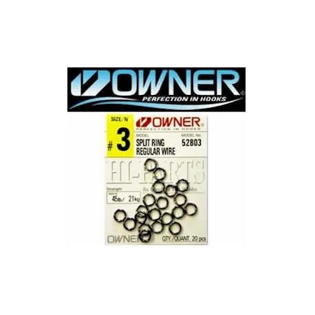 Owner Regular Wire Split Ring henrys