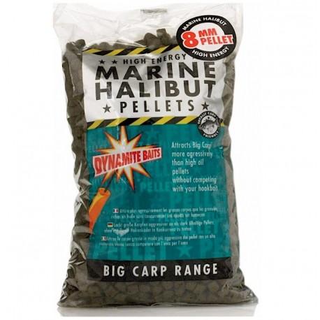 Dynamite Marine Halibut Pellets henrys