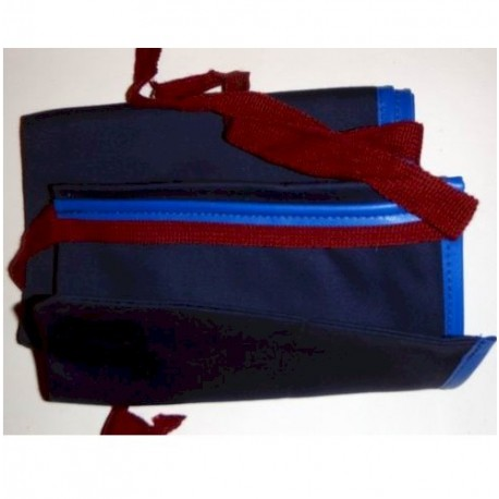 Cloth Spin Rod Bag 9ft Navy henrys