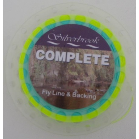 Silverbrook Complete Fly Line and Backing henrys